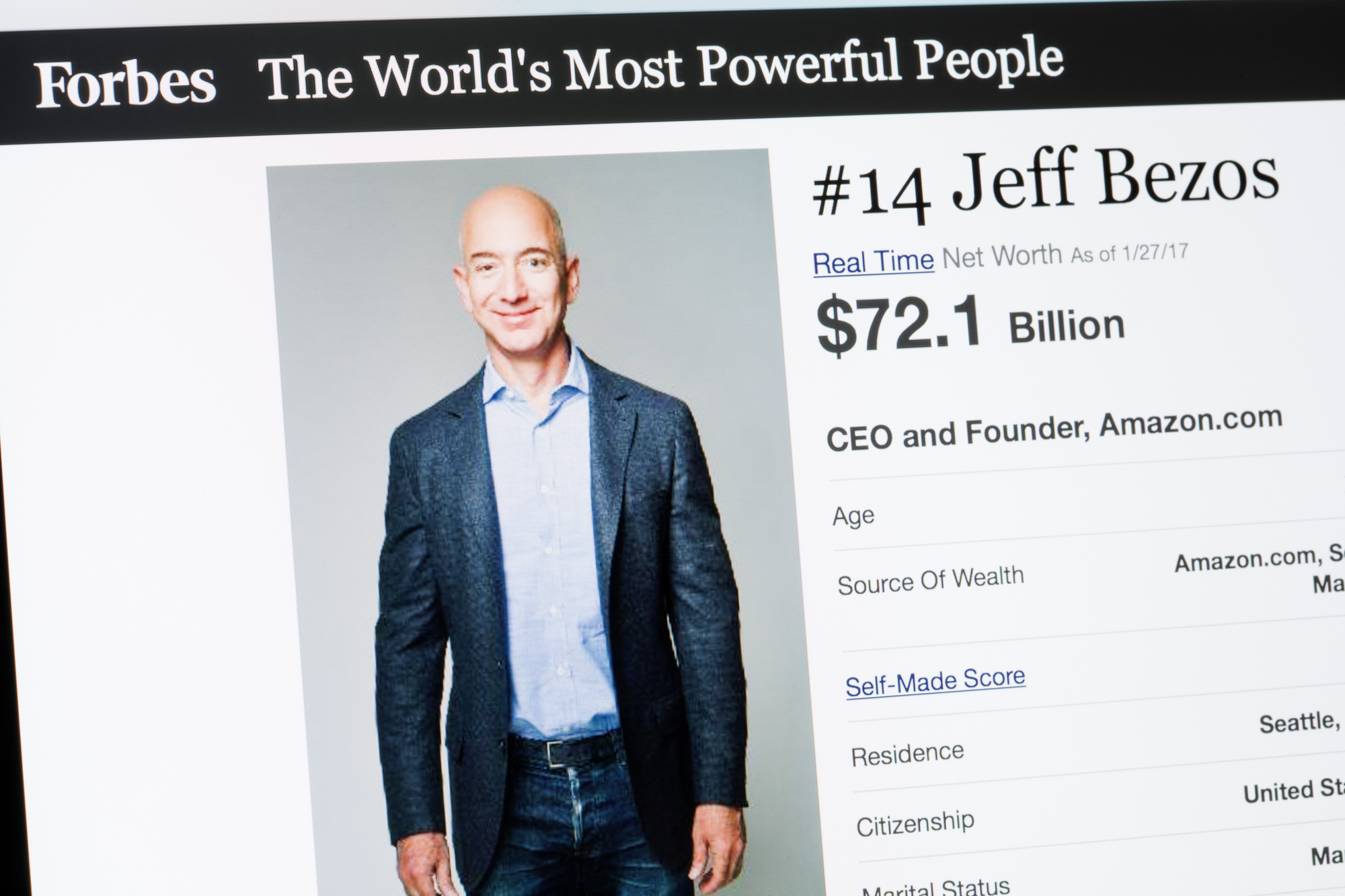 Why Jeff Bezos was Called to Take the Stand